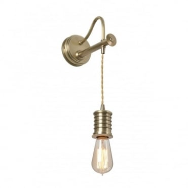 DOUILLE - Aged Brass Wall Light
