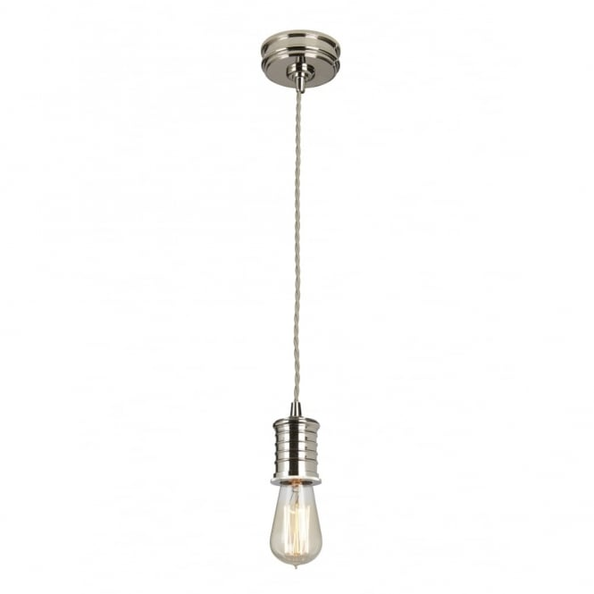 DOUILLE - Polished Nickel Ceiling Pendant