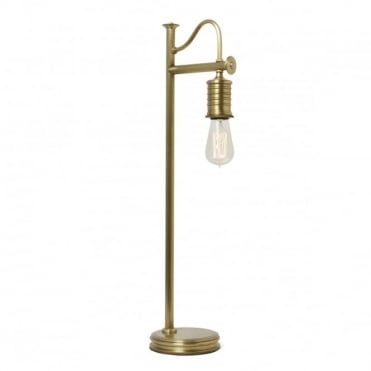 DOUILLE Vintage Table Lamp Aged Brass