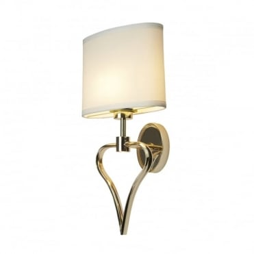 FALMOUTH 2 Light Bath Wall Light Gold