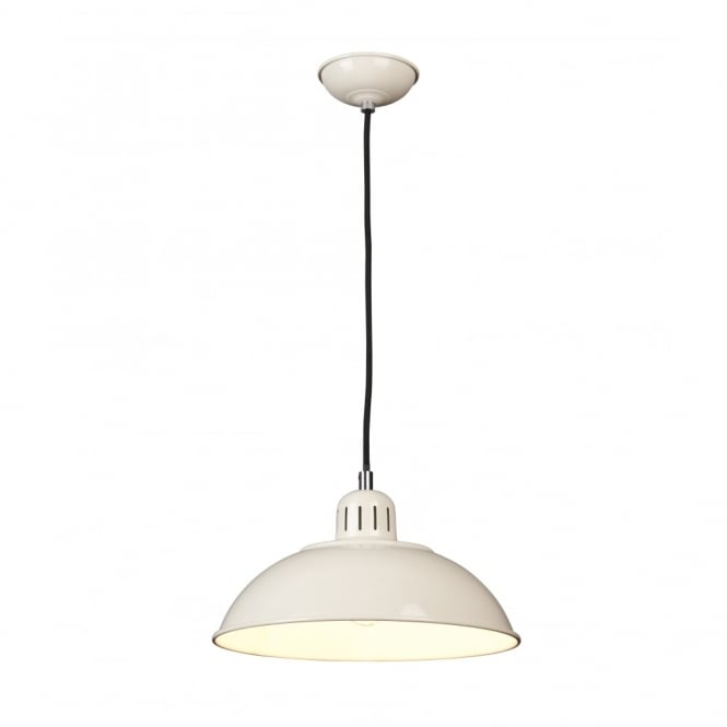 Chester Collection FRANKLIN - Cream Ceiling Pendant