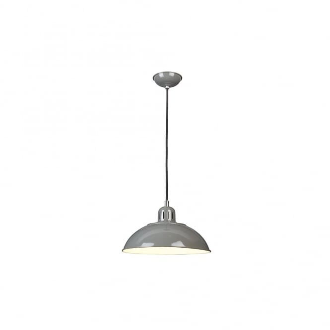 Chester Collection FRANKLIN - Grey Ceiling Pendant