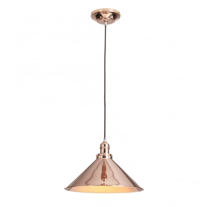Chester Collection PROVENCE - Copper Copper Single Ceiling Pendant