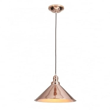 PROVENCE - Copper Copper Single Ceiling Pendant