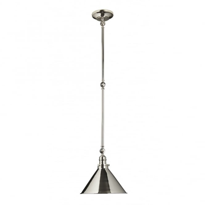 Chester Collection PROVENCE - Polished Nickel Grand Wall Pendant