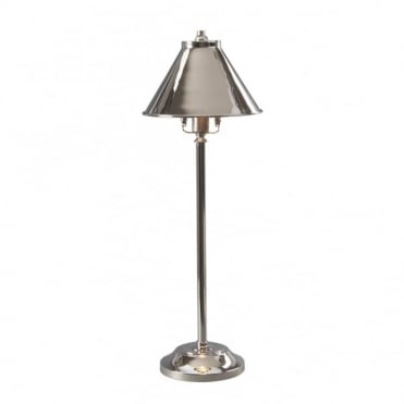 PROVENCE - Polished Nickel Stick Lamp