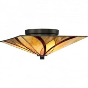 TIFFANY - Asheville Flush Ceiling Mount