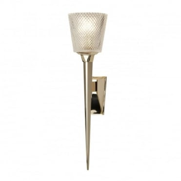 VERITY 1 Light Bath Wall Light Gold