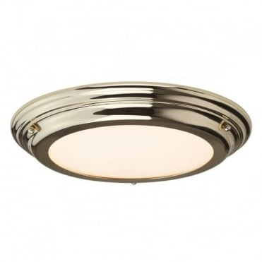 WELLAND LED Medium Bath Antique Flush Polished Brass