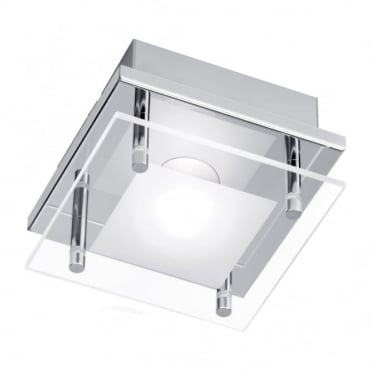 CHIRON - LED Ceiling Light Chrome in Chrome