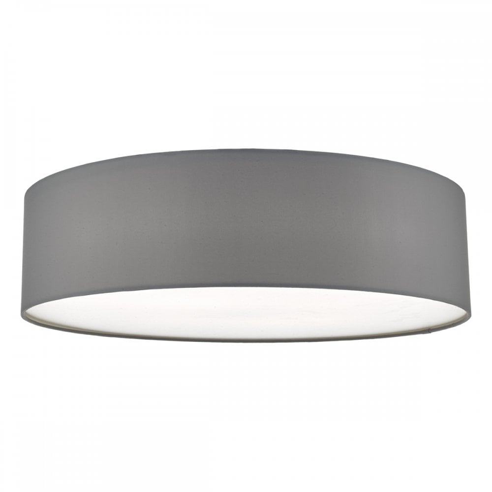 60cm 4 Light Ceiling Flush Light Grey Lighting And Lights Uk
