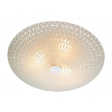 COLBY - Circular Flush Ceiling Ceiling Light For Low Ceilings