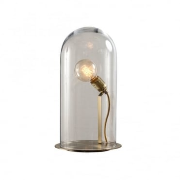 SPEAK - Up! Glow In A Dome Clear Glass Table Lamp (Extra Large)