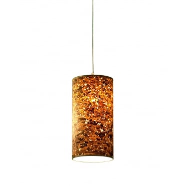 CORK - 20 x 40 cm Cylindrical Ceiling Shade or Lampshade Natural Cork