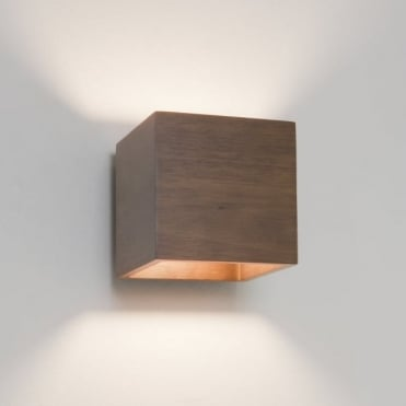 CREMONA - Wooden Walnut Wall Light