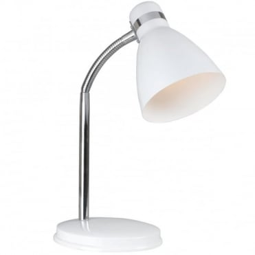 CYCLONE - Adjustable Table Lamp White