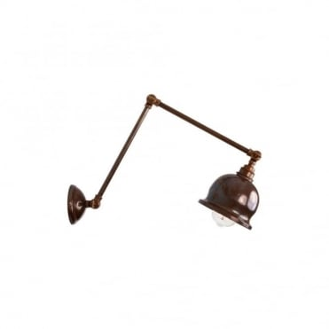 DALE - Poster Light In Antique Brass