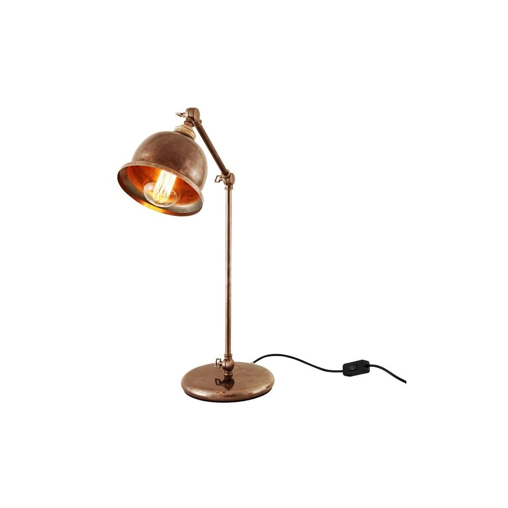 Dale Table Lamp In Antique Brass