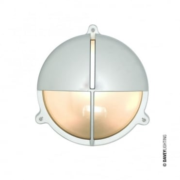 BRASS - Exterior Bulkhead With Eyelid Shield in Chrome