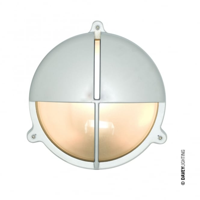BRASS - Exterior Bulkhead With Eyelid Shield Large in Chrome