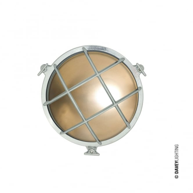 Davey Lighting BULKHEAD - Brass Bulkhead With Internal Fixing Points Chrome Plated