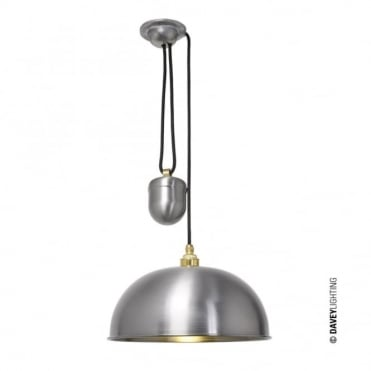 DOME - Rise and Fall Ceiling Ceiling Pendant Steel Lacquered; Perfect in Kitchens!