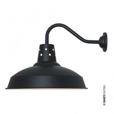 FACTORY - Wall Light Black White Interior