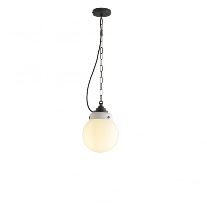 Davey Lighting HAMPTON - Pendant 1 Opal Brass