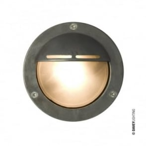 MINIATURE - Exterior Bulkhead Eyelid Shield G9 Weathered Brass