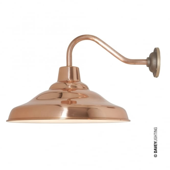 Davey Lighting SCHOOL - Wall Light Polished Copper