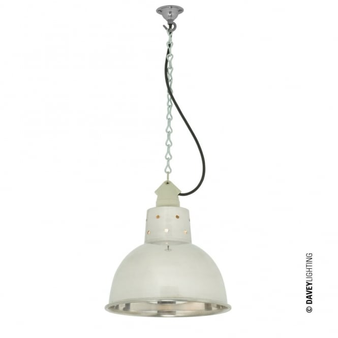 Davey Lighting SPUN - Reflector With Suspension Lampholder Polished Aluminium