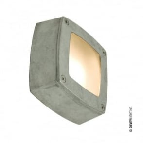 WALL/CEILING - Light Square Plain Bezel Aluminium