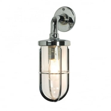 WEATHERPROOF - Ship'S Well Glass 7207 Wall Light Chrome Clear Glass