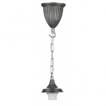 BADGER - Single Pendant Suspension Pewter