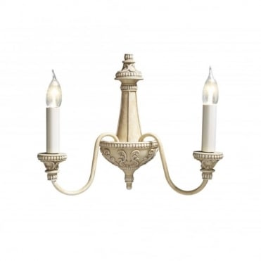 BAILEY - Antique Cream Wall Light