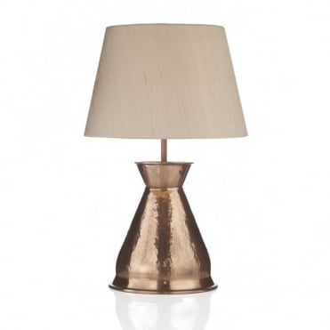 BUCCANEER - Copper Table Lamp Base Only