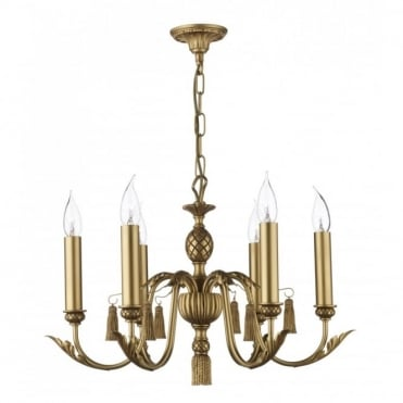 CLASSIC - Antique Gold Ceiling Light