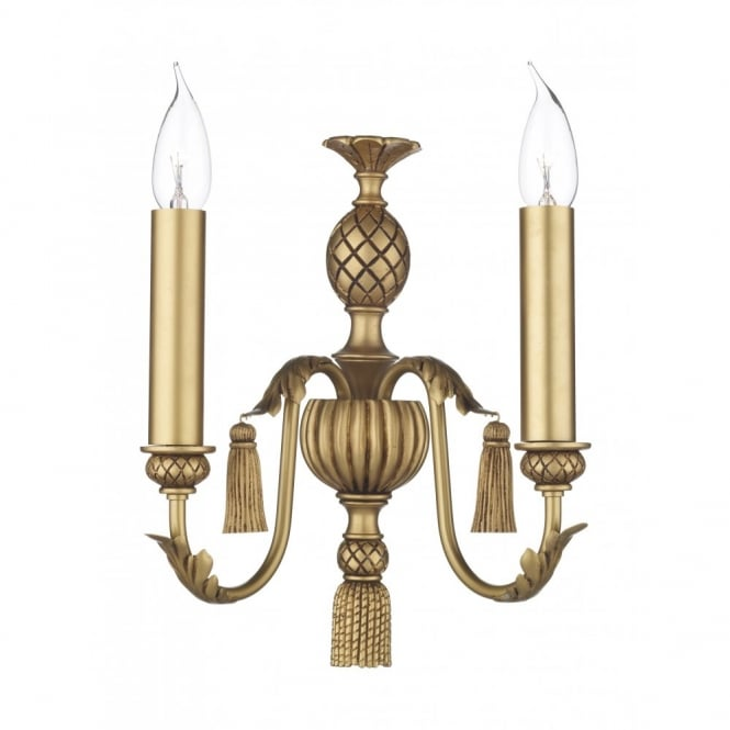 David Hunt Lighting CLASSIC - Antique Gold Wall Light