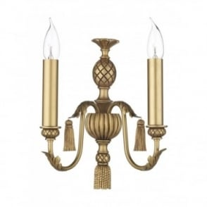 CLASSIC - Antique Gold Wall Light