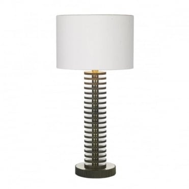 COG - Table Lamp In Brass With Ivory Shade