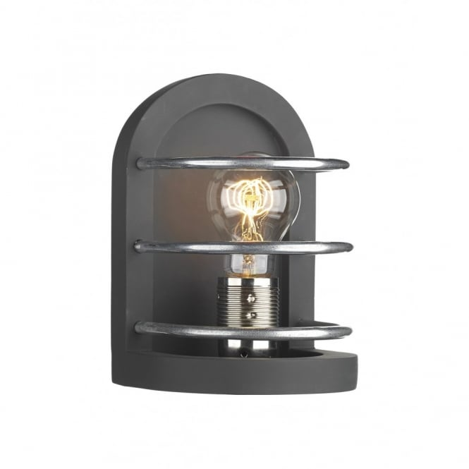 David Hunt Lighting DETROIT - Matt Black Traditional Wall Light