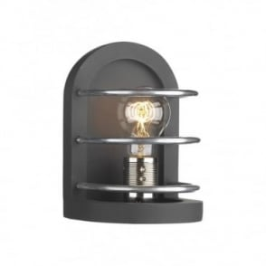 DETROIT - Matt Black Traditional Wall Light
