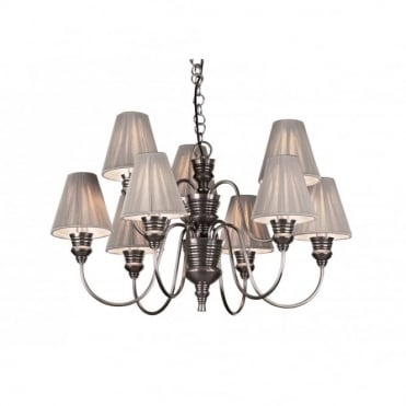 DOREEN - Antique Pewter Ceiling Light