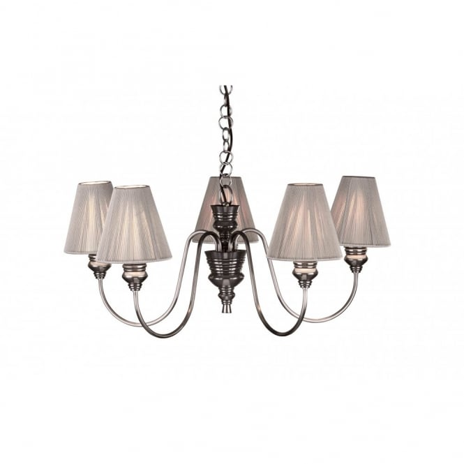 DOREEN - Pewter Ceiling Light