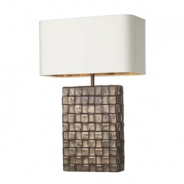 ELEMENT - Table Lamp Copper C/W Ivory Sh Bz Inner
