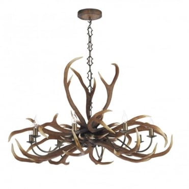 EMPEROR - Stag Ceiling Light