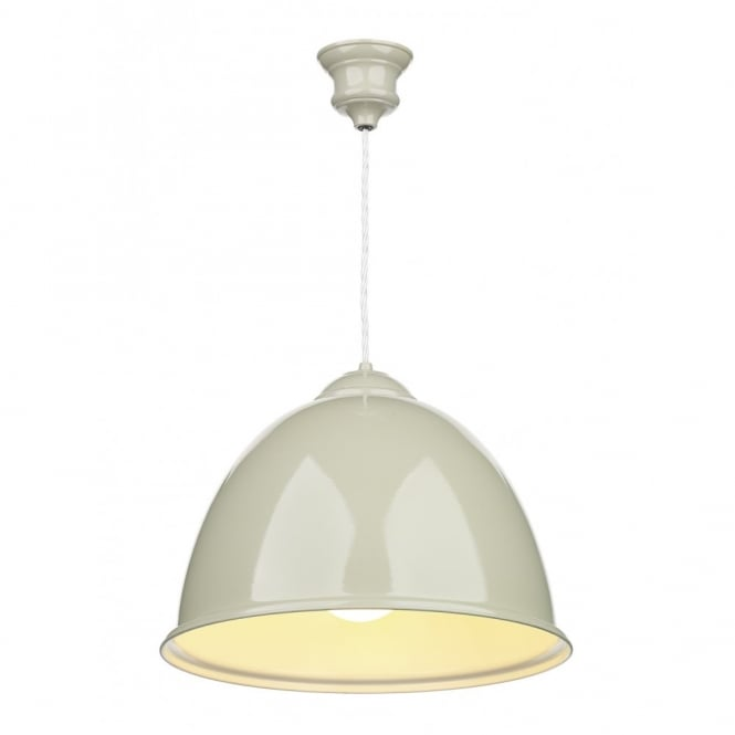 EUSTON - Double Insulated French Cream Ceiling Pendant