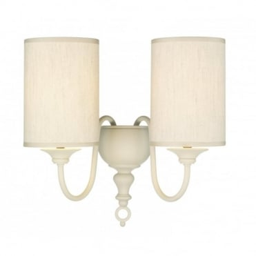 FLEMISH - Antique Cream Wall Light