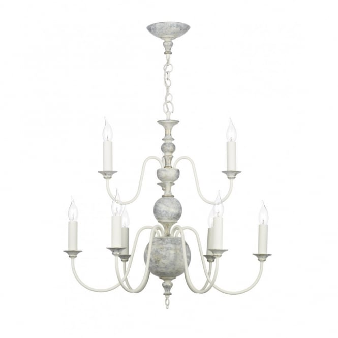 David Hunt Lighting FLEMISH - Distressed Finish Ceiling Light