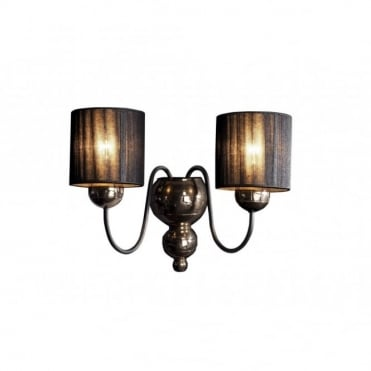 GARBO - Bronze Black Wall Light